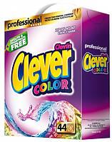 Clever Color стиральный порошок для цветных тканей 3.3 кг картон
