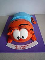 """Детский торт на день рождения """"Гарфилд"""""""
