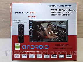 Автомагнитола 2din Pi-8702 Android, фото 3