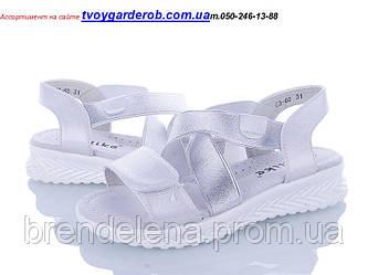 Дитячі босоніжки для дівчинки Yalike р31-37 (код 3600-00)