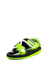 Сандали детские Bitis 9954-S черно-зеленые (22), фото 3