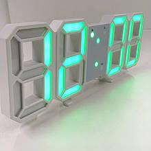Настільний електронний годинник з підсвічуванням зелений VST-1089 /6801 GREEN (60 шт/ящ)