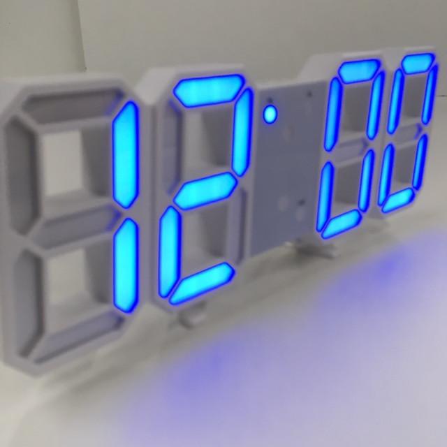Настольный электронный часы с синим подсветкой VST-1089/6802 (60 шт/ящ)