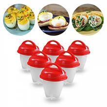 Силіконові формочки для варіння яєць без шкаралупи EGG Boiler № K12-32/10602 (100шт/ящ)