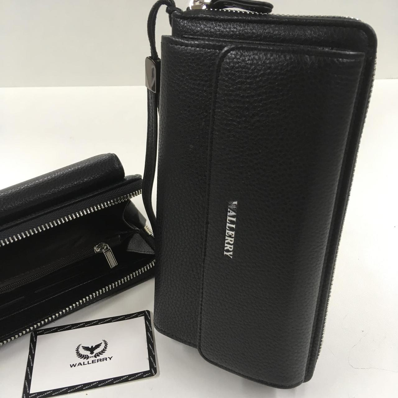 Кошелек XY-5515 ЧЕРНЫЙ Wallerry (300шт/ящ)