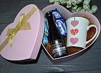 Подарочный набор с чашкой, вином, конфетами, фото 1