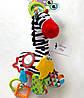 Музыкальная игрушка-подвеска Зебра Зоя Balibazoo (Высота 26 см), фото 7