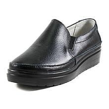 Слипоны женские Allshoes 8360-2 черные (38)