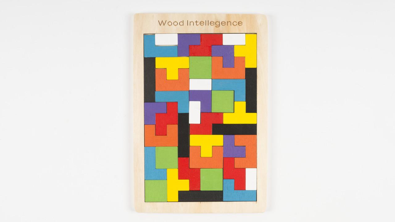 Деревянная игрушка Тетрис. 5509