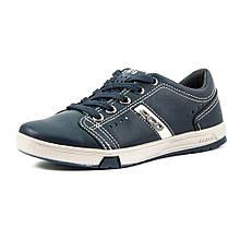 Кеды подростковые Pegada 370401-05 темно-синяя кожа (31)