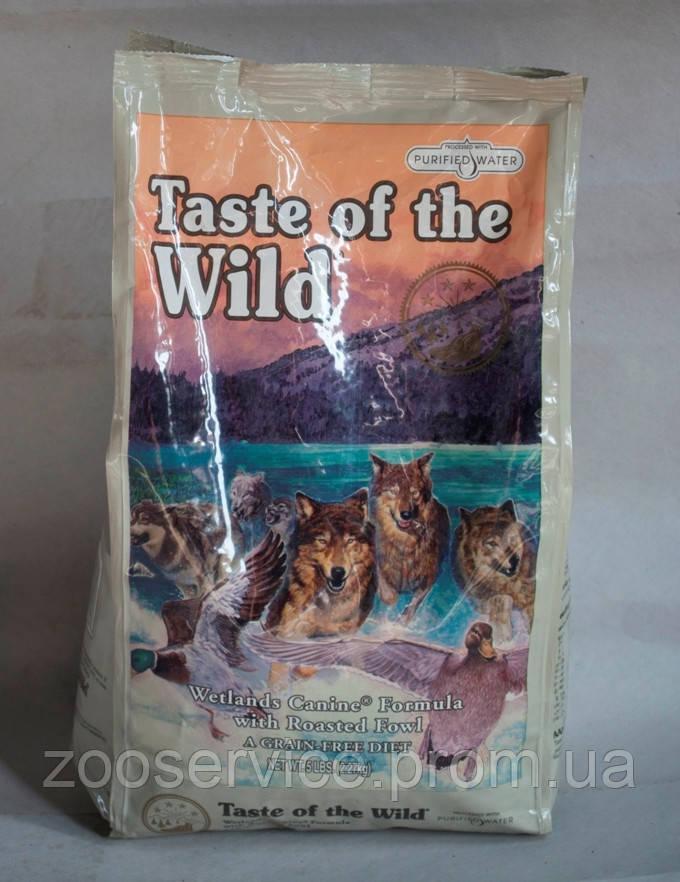 Сухой корм холистик для собак Taste of the Wild (Тест оф зе Вайлд) с индейкой, уткой и перепелка 13 - Zooservice в Киеве