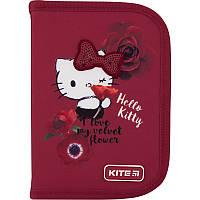 Пенал без наполнения Kite Education Hello Kitty HK20-621-1 1 отделение 2 отворота