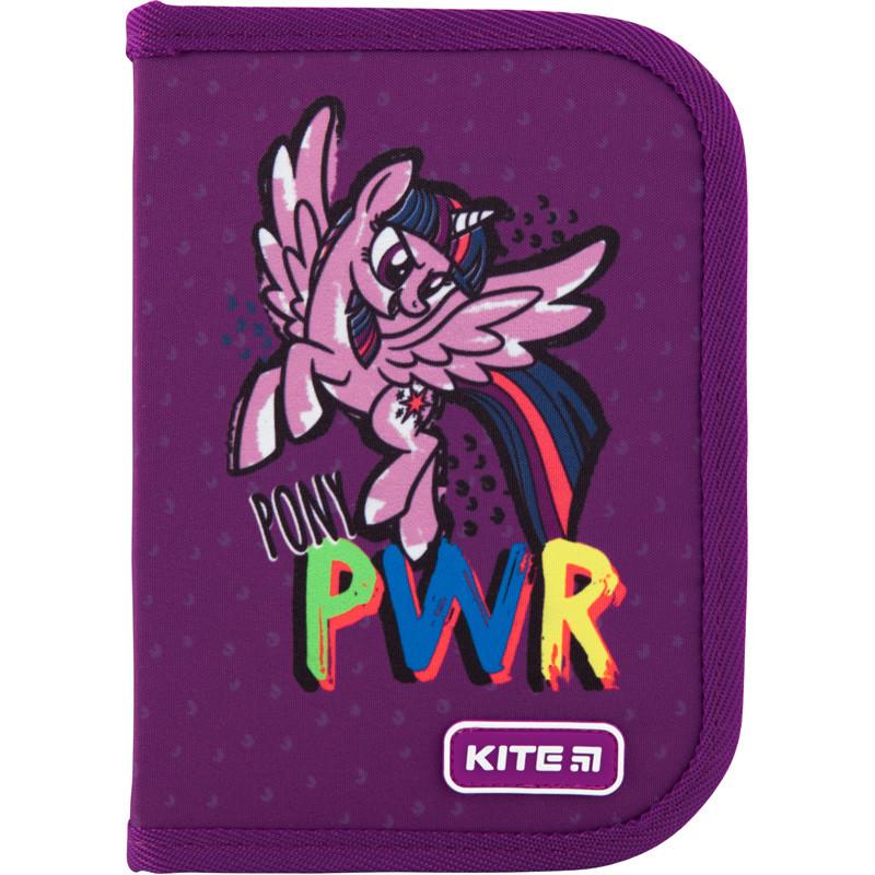Пенал без наполнения Kite Education My Little Pony 1 отделение 1 отворот  LP20-621