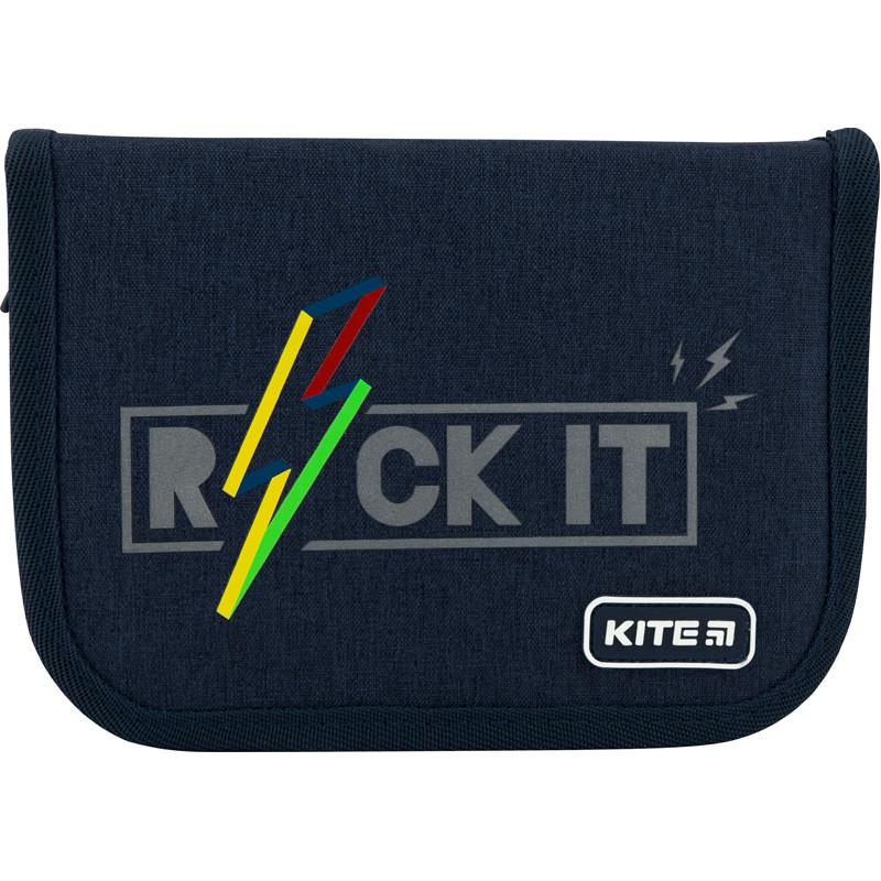 Пенал с наполнением Kite Education Rock it  K20-622H-10, 1 отделение 2 отворота