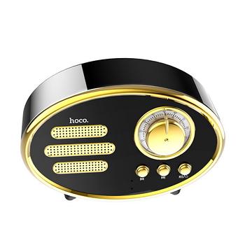 Колонка Hoco BS25 Time wireless speaker Black