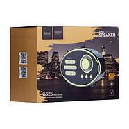 Колонка Hoco BS25 Time wireless speaker Black, фото 3