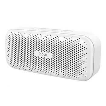 Колонка Hoco BS23 Elegant rhyme wireless speaker White