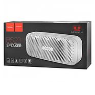 Колонка Hoco BS23 Elegant rhyme wireless speaker White, фото 3