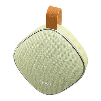 Колонка Hoco BS9 Light textile desktop wireless speaker Green
