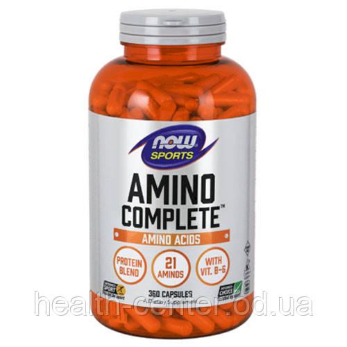 Amino Complete Аминокислоты 360 капс сбалансированный комплекс  Now Foods