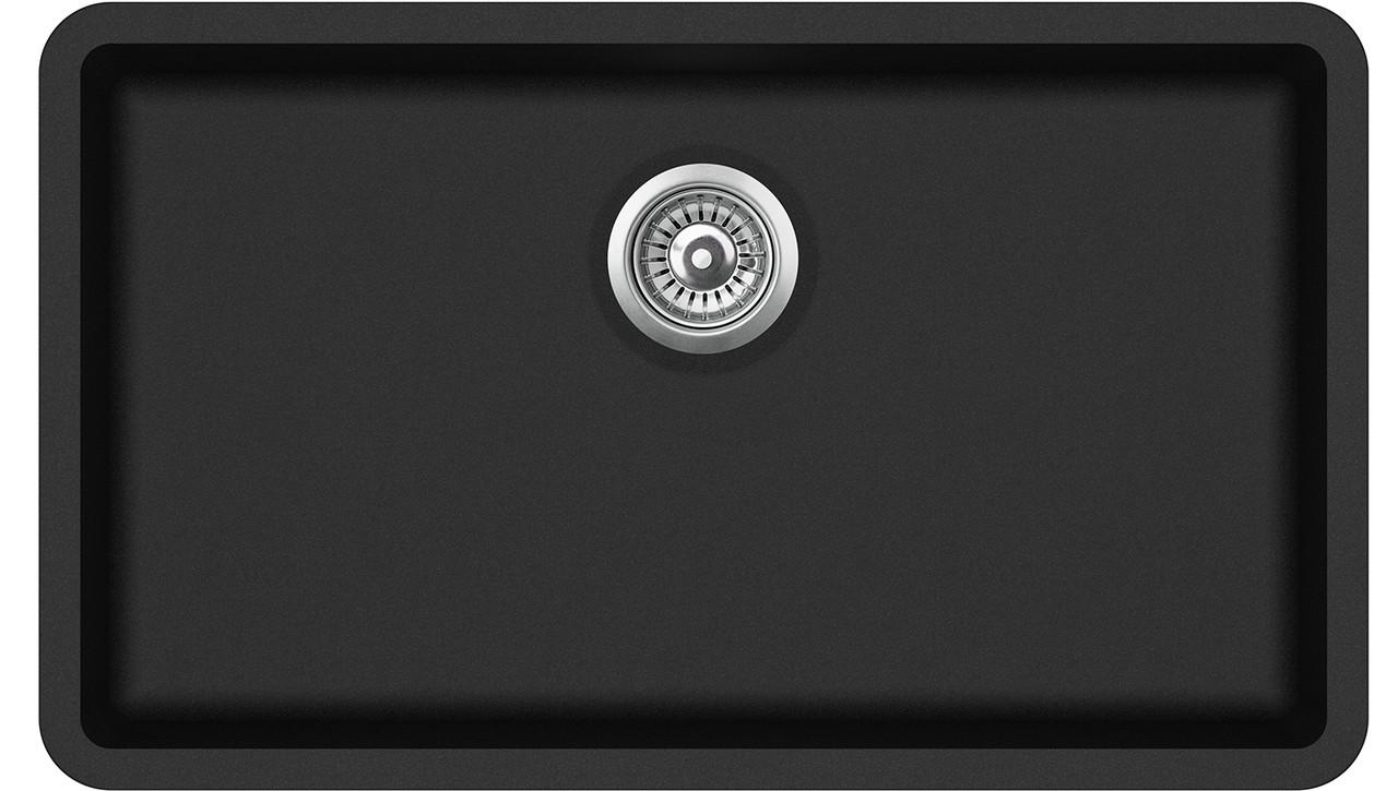 Кухонная гранитная мойка Aquasanita SQA104 Arca 810*480