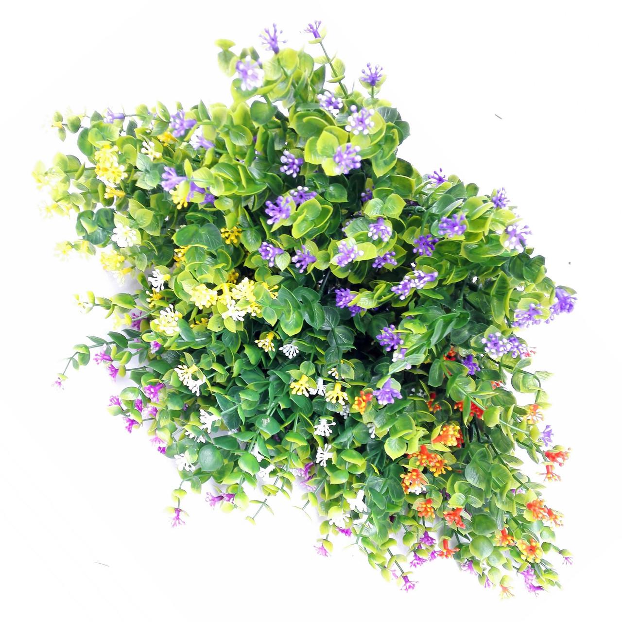 Букет самшит квітучий різнобарвний , 35см (20 шт в уп.)
