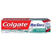 Colgate МаксБлеск зубная паста с фторидом 100 мл Кристальная мята