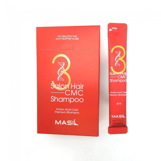 Masil 3 Hair Salon CMC Shampoo Pouch Відновлюючий шампунь з амінокислотами