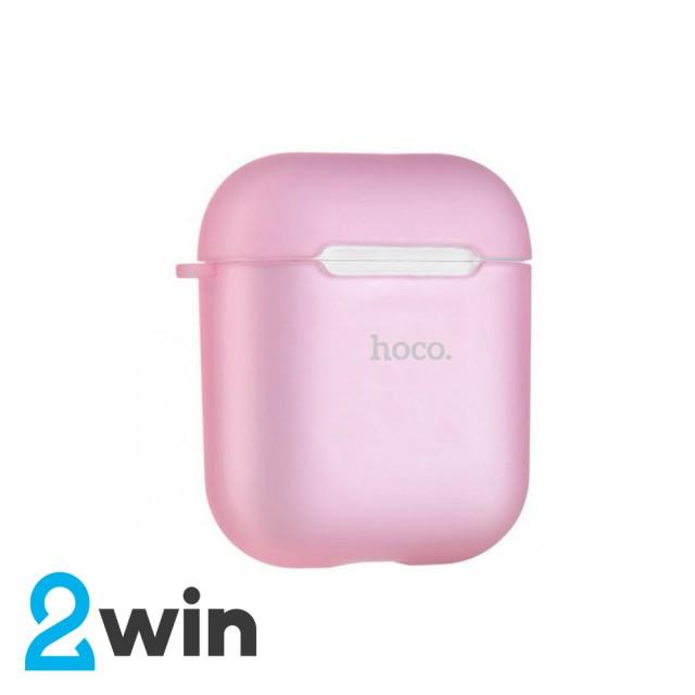 Чехол Hoco Airpods Wireless Headset TPU Case Розовый
