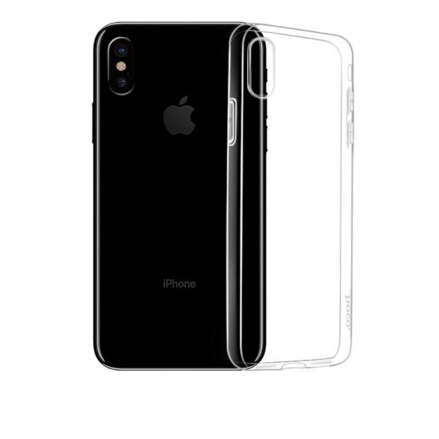 Чехол Hoco Crystal clear series TPU case for iPhone XS Прозрачный