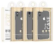 Чохол Hoco Armor Series shatterproof soft case for iPhone XR Прозорий, фото 3