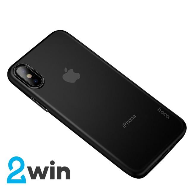 Чехол Hoco Thin Series PP case for iPhone XS Глянцевый Черный