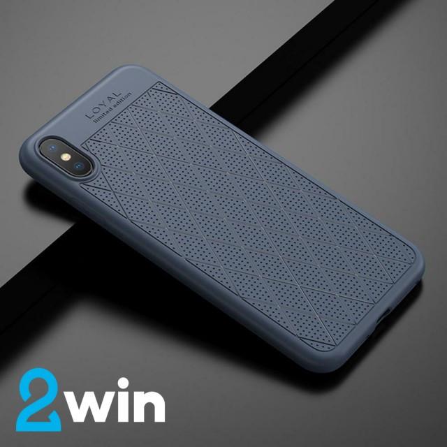 Чехол Hoco Admire series protective case for iPhone X/XS Синий