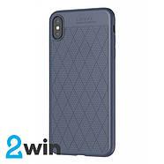 Чехол Hoco Admire series protective case for iPhone X/XS Синий, фото 2