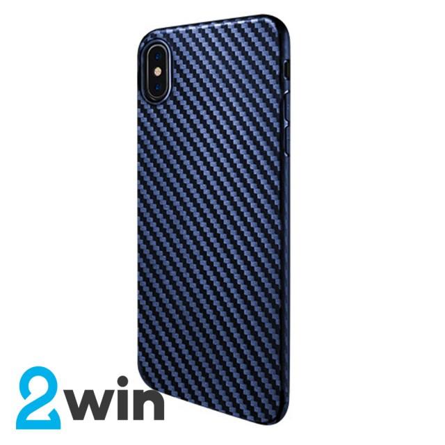 Чехол Hoco Delicate shadow series protective case for iPhone X/XS Синий