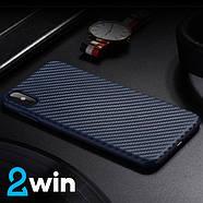 Чехол Hoco Delicate shadow series protective case for iPhone X/XS Синий, фото 2
