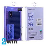 Чехол Hoco Delicate shadow series protective case for iPhone X/XS Синий, фото 3