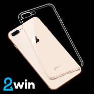 Чохол Hoco Crystal clear series TPU case for iPhone 7 Plus/8 Plus Прозорий, фото 2