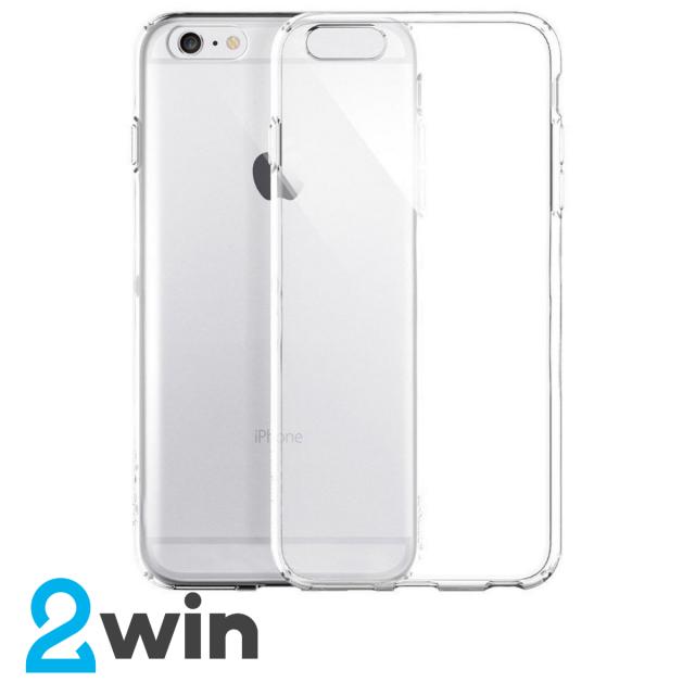 Чехол Silicone Slim Case iPhone 6/6S Прозрачный