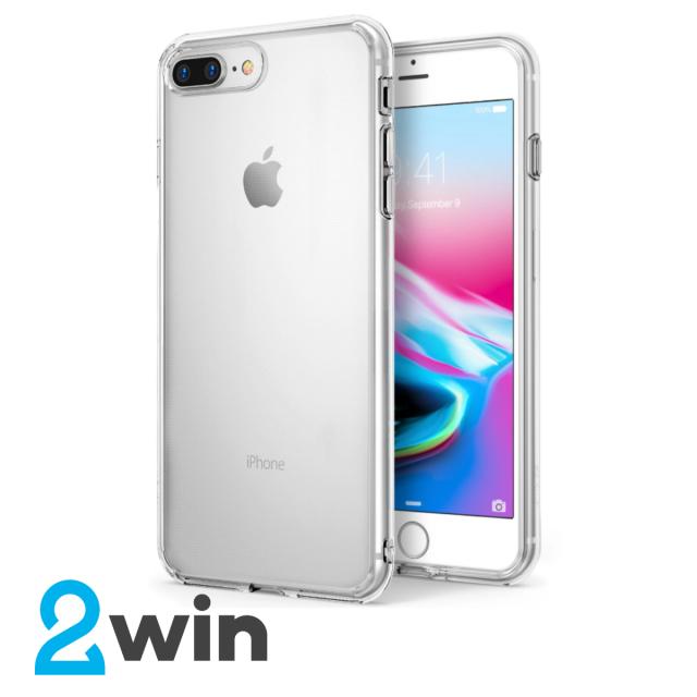 Чехол Silicone Slim Case iPhone 7/8 Plus Прозрачный