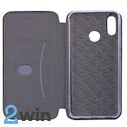Чехол-книжка Premium Huawei P Smart Plus Черный, фото 2