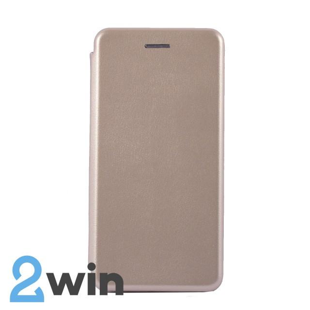 Чехол-книжка Premium Samsung A40 Золотой