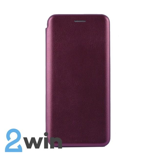 Чехол-книжка Premium Xiaomi Mi 9 Бордовый