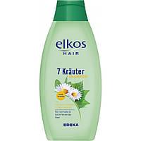 Elkos шампунь 500 мл Kräuter травы
