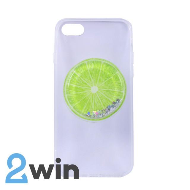Чохол Fruit 3D iPhone 7/8 Лайм