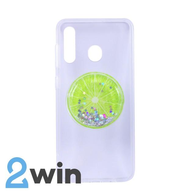 Чехол Fruit 3D Samsung A30 Лайм