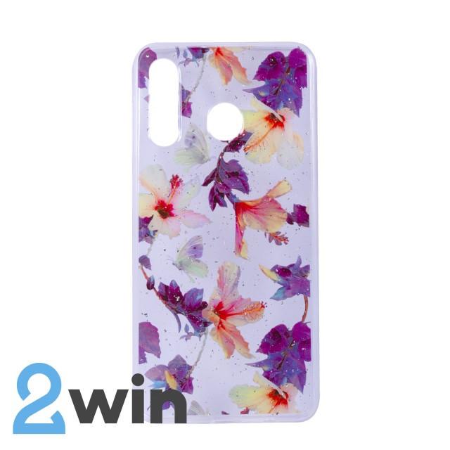 Чехол Fashion Цветы Samsung A30 Мод. 04