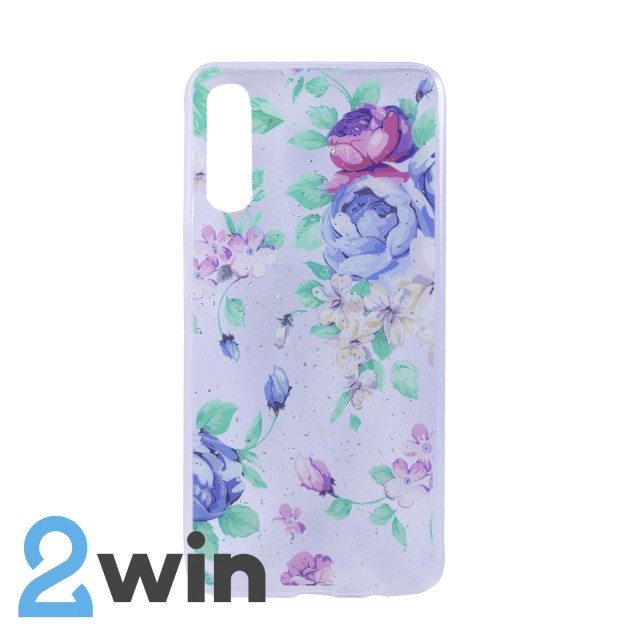 Чохол Fashion Квіти Samsung A50 Мод. 05
