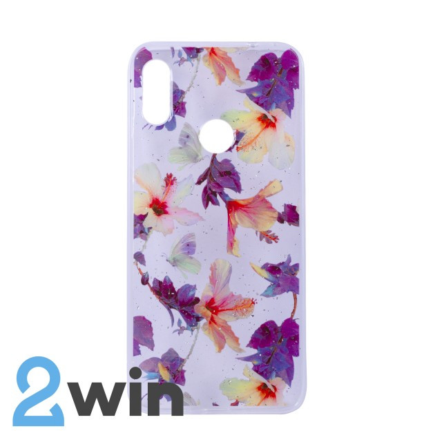 Чехол Fashion Цветы Xiaomi Redmi Note 7 Мод. 04