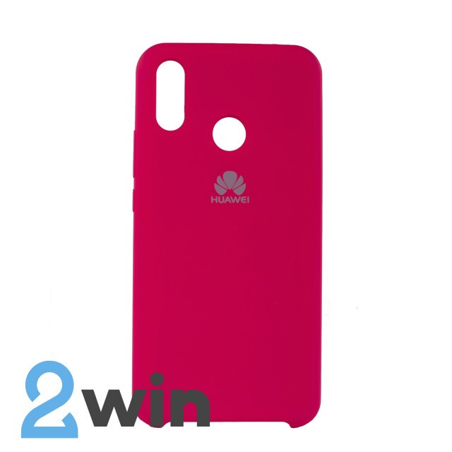 Чехол Jelly Silicone Case Huawei P Smart Plus Красная Роза